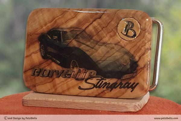 PetziBelts - Print - Olive - Corvette