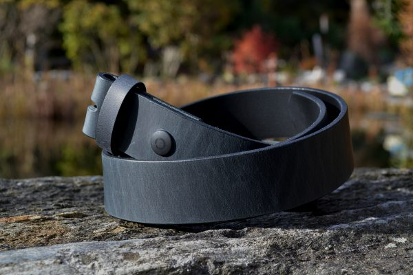 PetziBelts - Leather Black Antique - by Guertel-nach-Mass